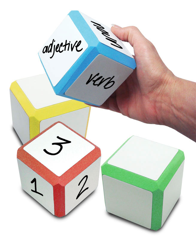 Erasable Cool Cubes ~ 1 Set