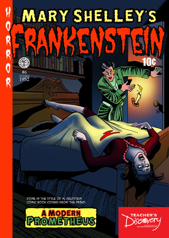 Frankenstein Graphic Novel Poster