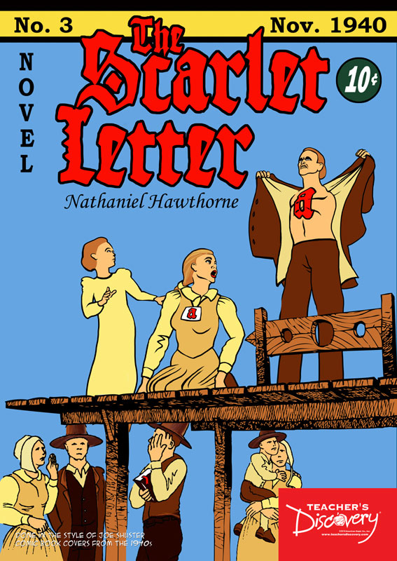 The Scarlet Letter Graphic Novel Poster