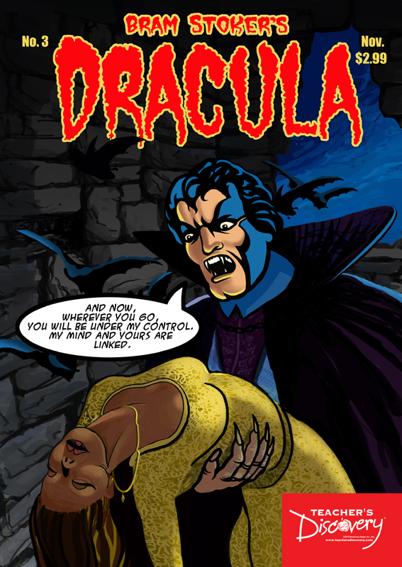 Dracula Graphic Novel Poster