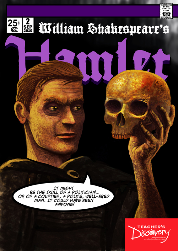 Hamlet Graphic Novel Poster