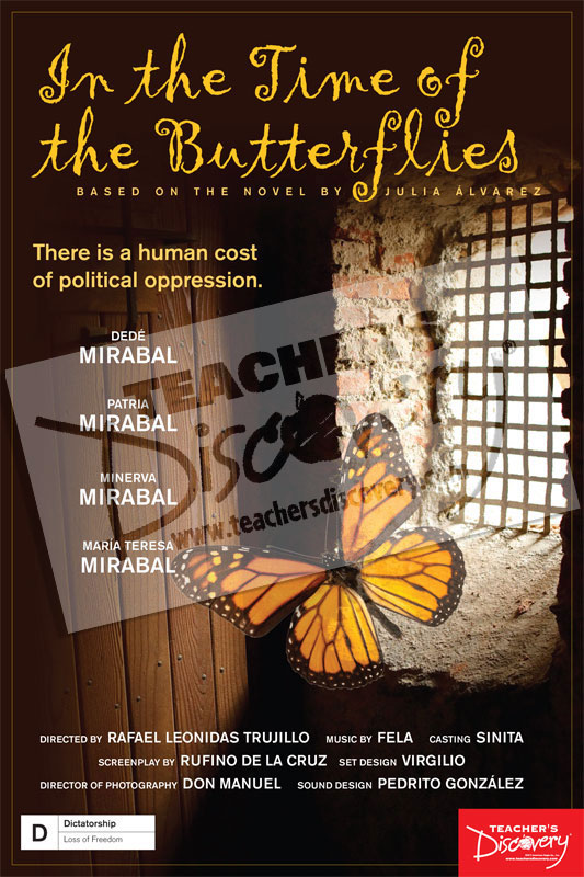 In the Time of the Butterflies Movie Poster