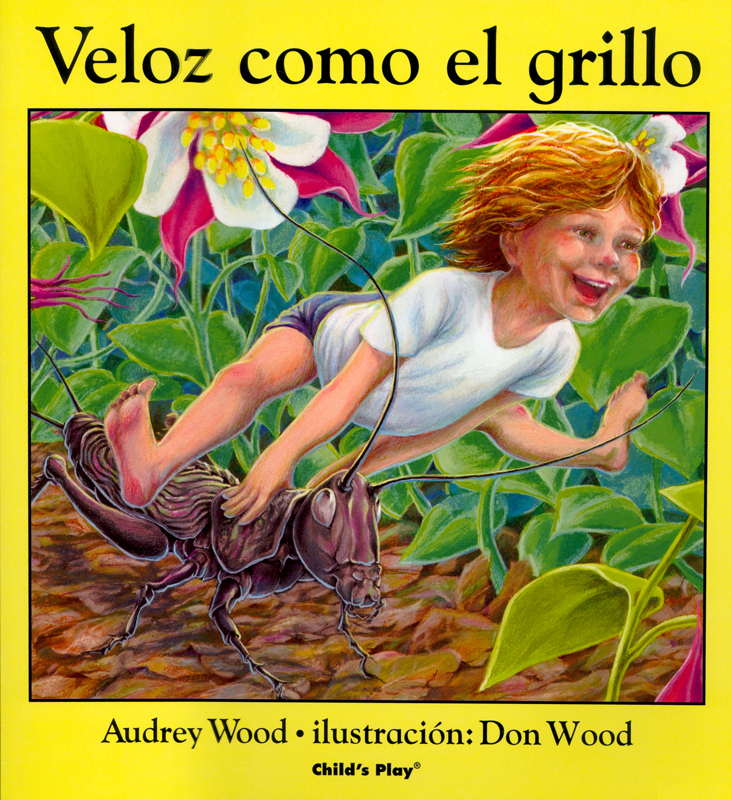 Veloz como el grillo Spanish Story Book
