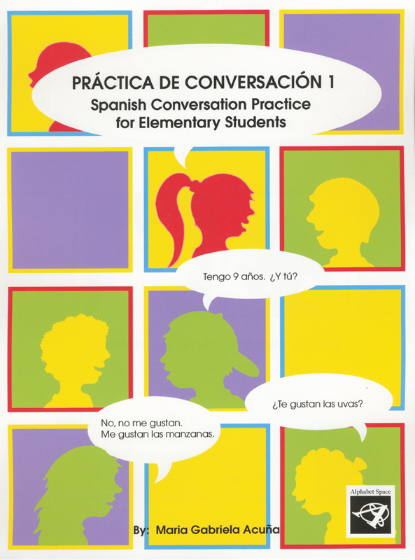 Practica de conversacion 1 Reproducible Elementary Activity Book