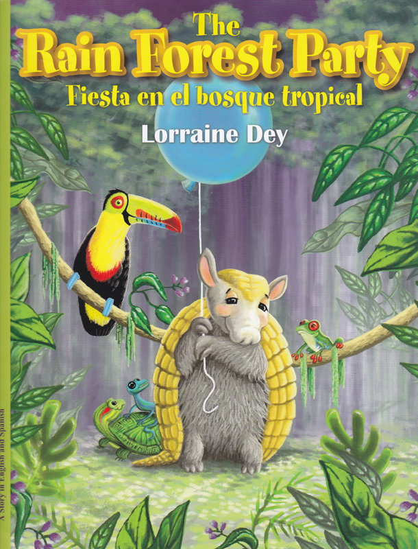 Rainforest Party Bilingual Story Book