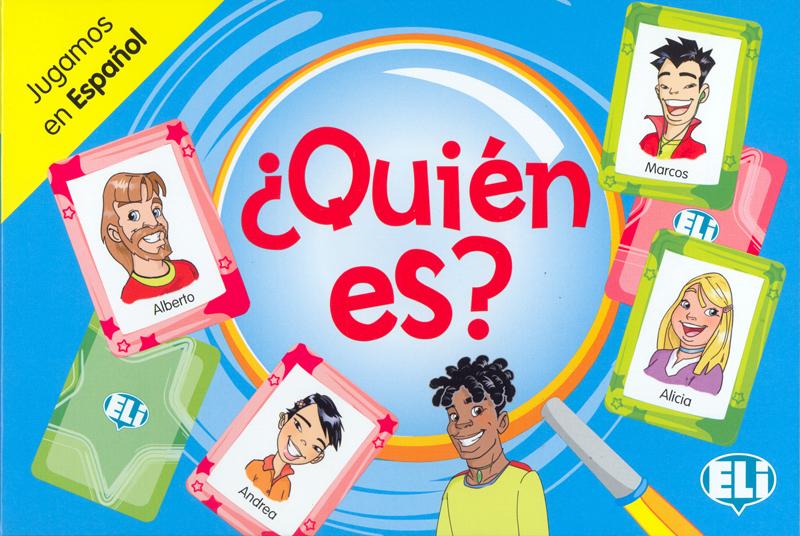 ¿Quien Es? Spanish Game