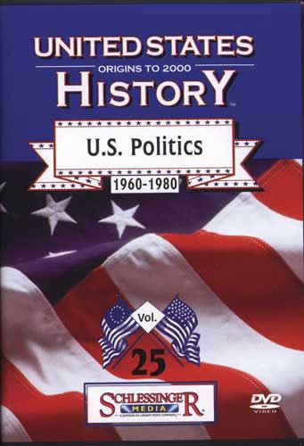 U.S. Politics 1960-1980 DVD