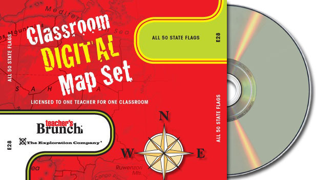 All 50 State Flags ~ CD-ROM