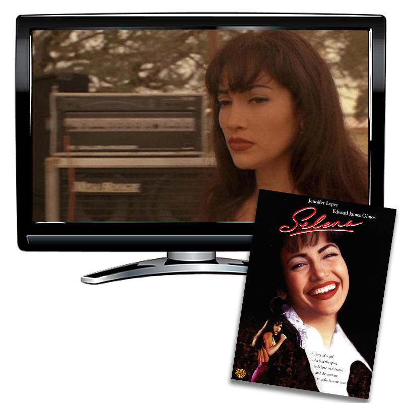 Selena Spanish/French/English DVD
