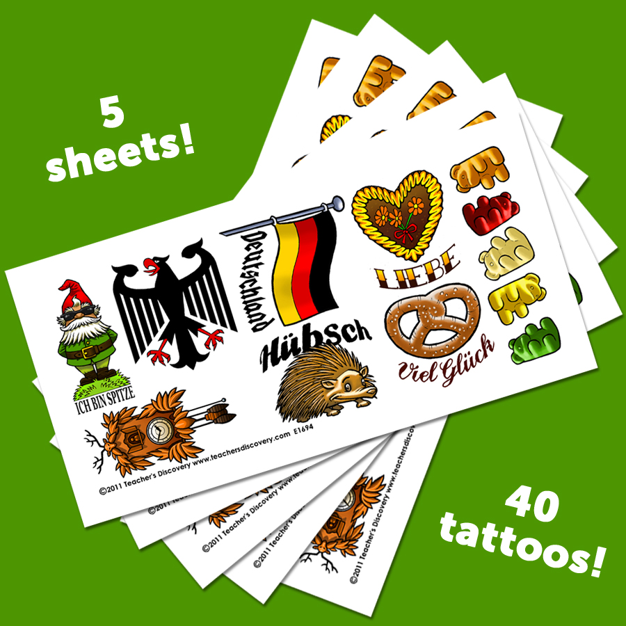 Temporary German Tattoos (40)