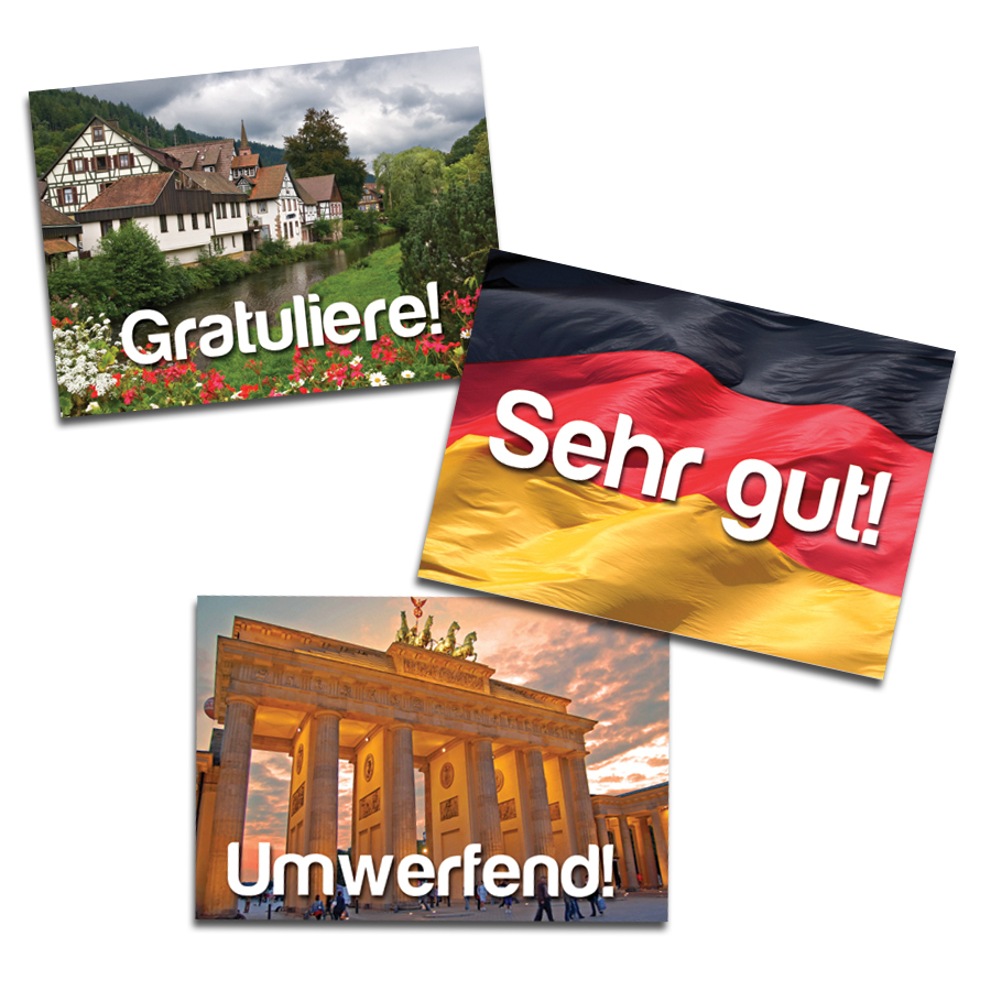 Sights of Germany Stickers (60)
