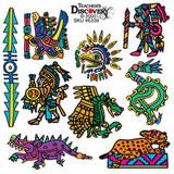 Aztec Tattoos - (36)