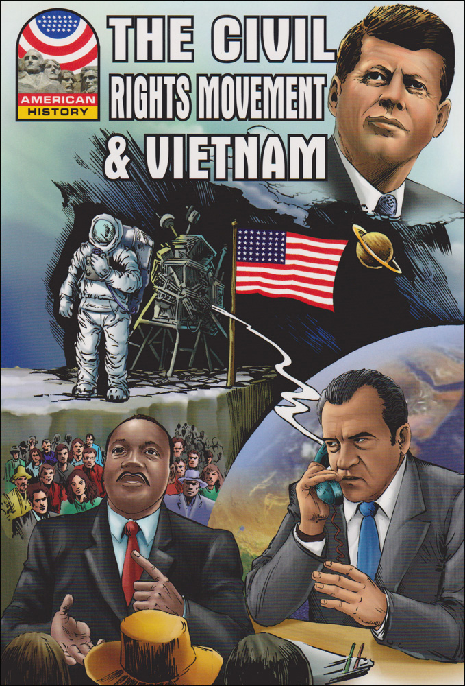 Civil Rights Movement and Vietnam Graphic Novel