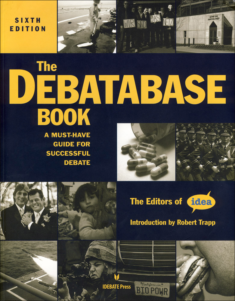 The Debatabase Book 6th Edition