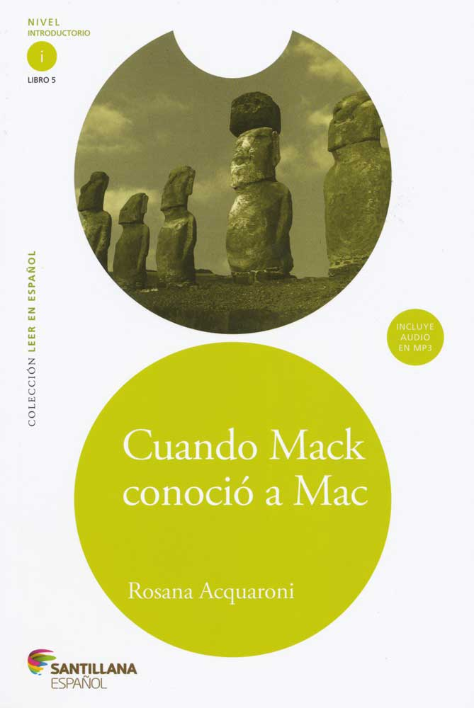 Cuando Mack conoció a Mac Spanish Level 1 Reader with Audio CD