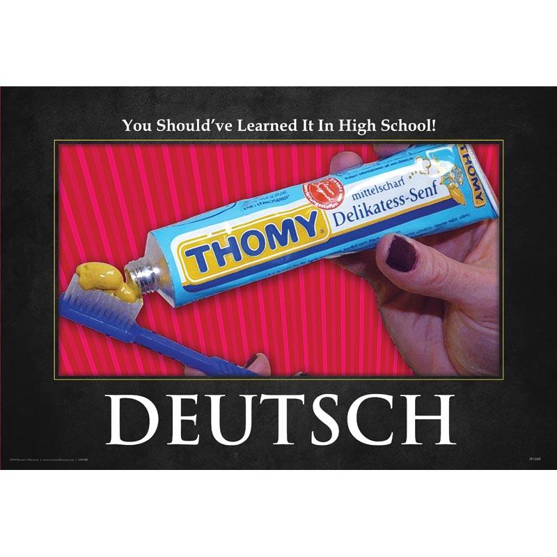 High School German Mini-poster
