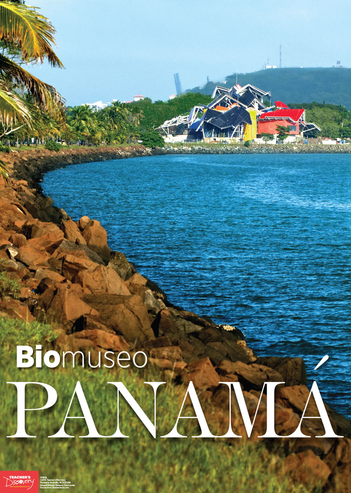 Panama Spanish Travel Poster