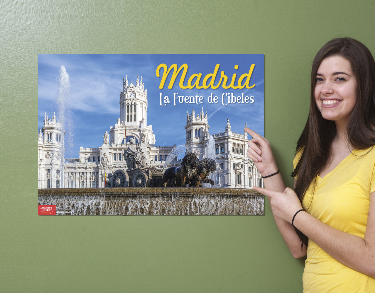 madrid spanish travel poster classroom d cor teacher 39 s