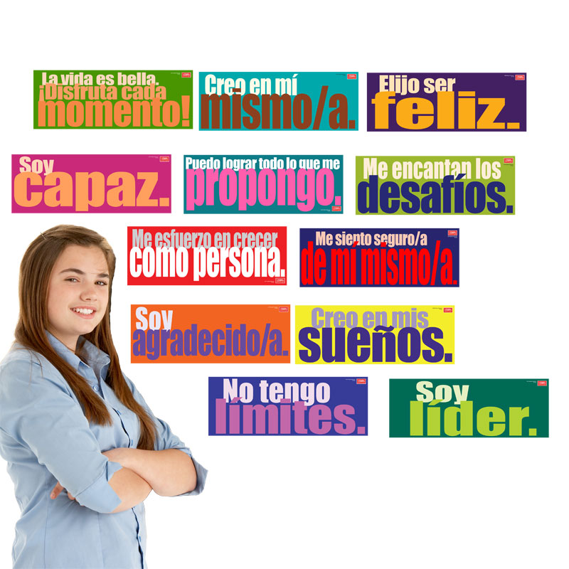 Inspired Minds Spanish Set of 12 Signs
