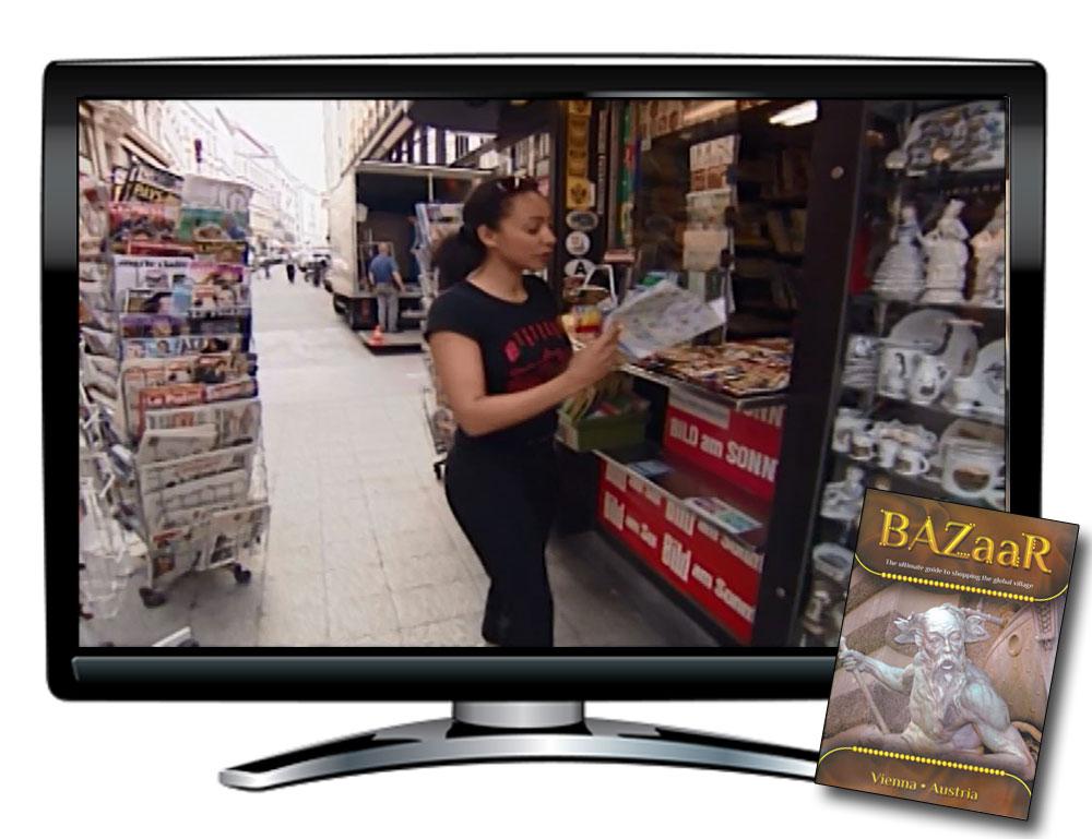 Bazaar Vienna Austria DVD