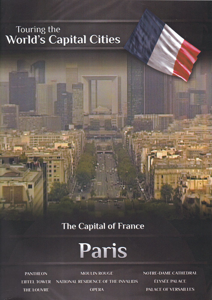 Capital of France Paris DVD