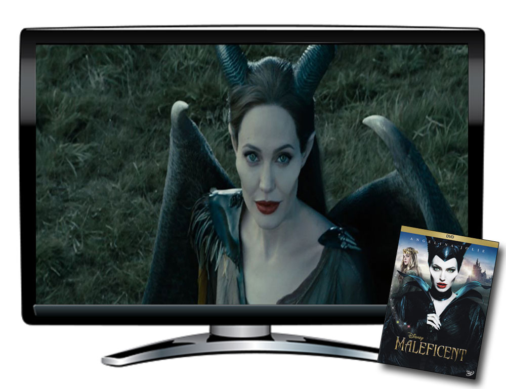 Maleficent Spanish/French DVD