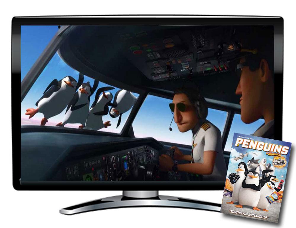 Penguins of Madagascar Spanish/French DVD