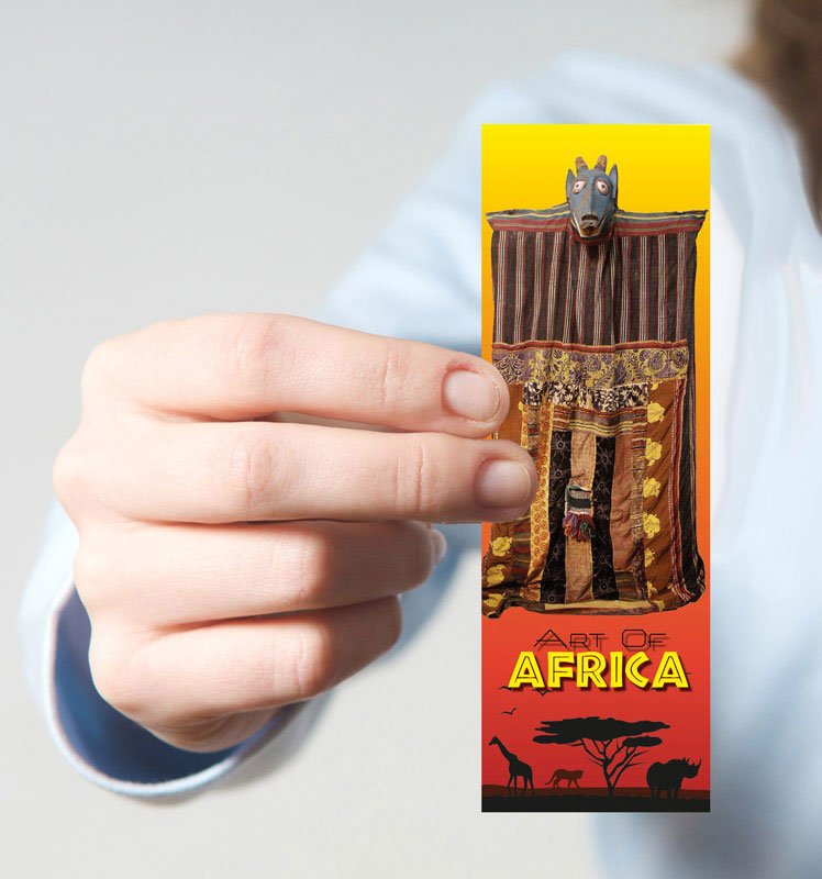 African Art Bookmarks Set Of 100