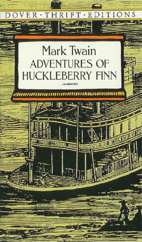 Adventures Of Huckleberry Finn Paperback Book (980L)