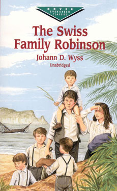 The Swiss Family Robinson Paperback Book (830L)