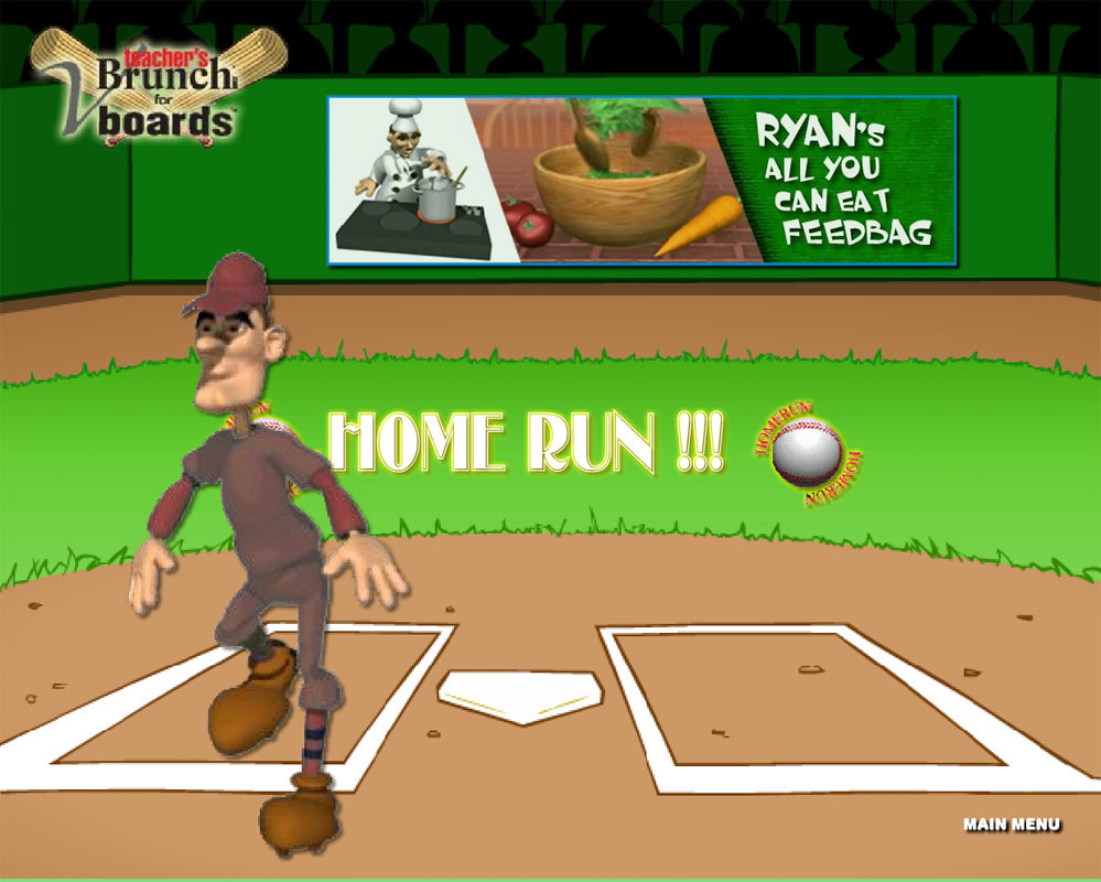 The Outsiders Baseball Game On CD