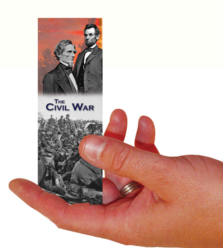 Civil War Set Of 100 Bookmarks