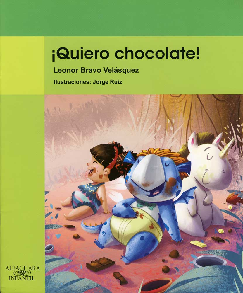¡Quiero chocolate! Spanish Book