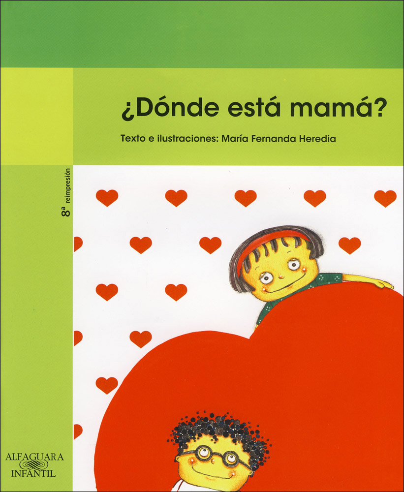 ¿Dónde está mamá? Spanish Book
