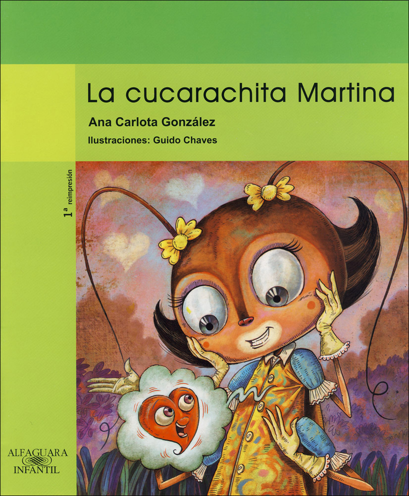 La cucarachita Spanish Book