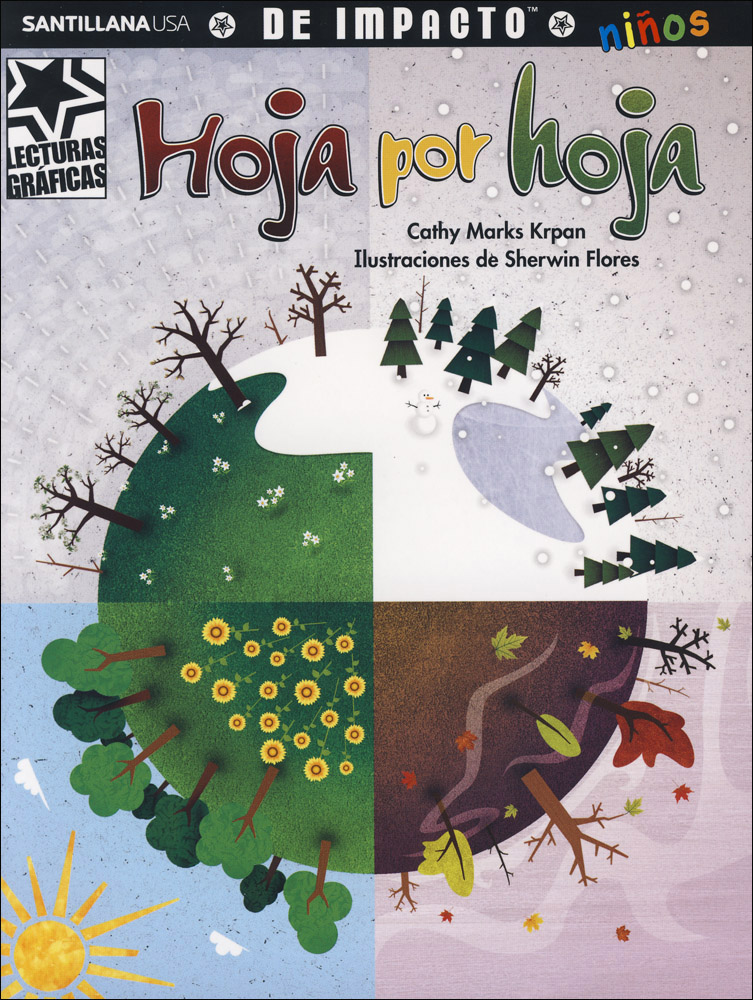 Hoja por hoja Spanish Graphic Reader