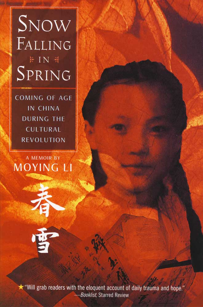 Snow Falling In Spring Paperback Book (1020L)