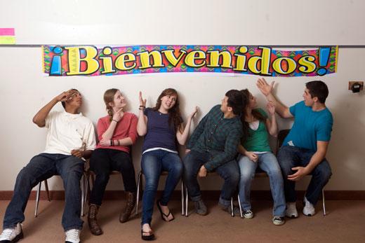 Bienvenidos Spanish Banner