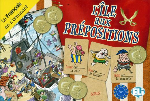 L'île aux prépositions French Game