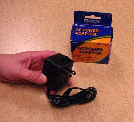 A/C Power Adapter for Time Tracker