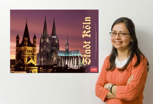 Kolner Dom German Travel Poster