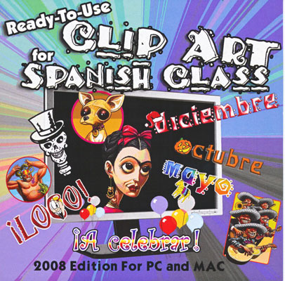 Ready-to-use Clip Art for Spanish Class Download