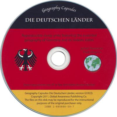 Die Deutschen Länder German Geography Capsule on CD