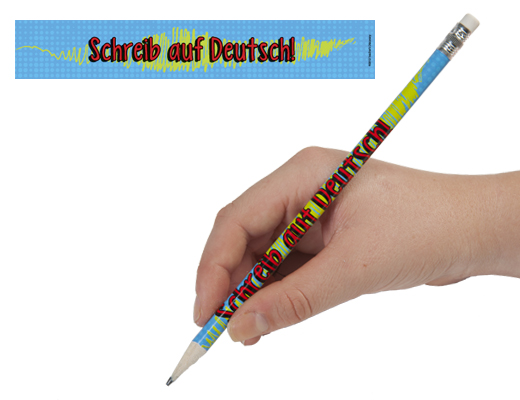 Write It In German Enhanced™ Pencils
