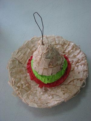 Mini-Sombrero Pinata