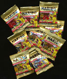 Gummi Bears Tub of 72 Mini Bags - German