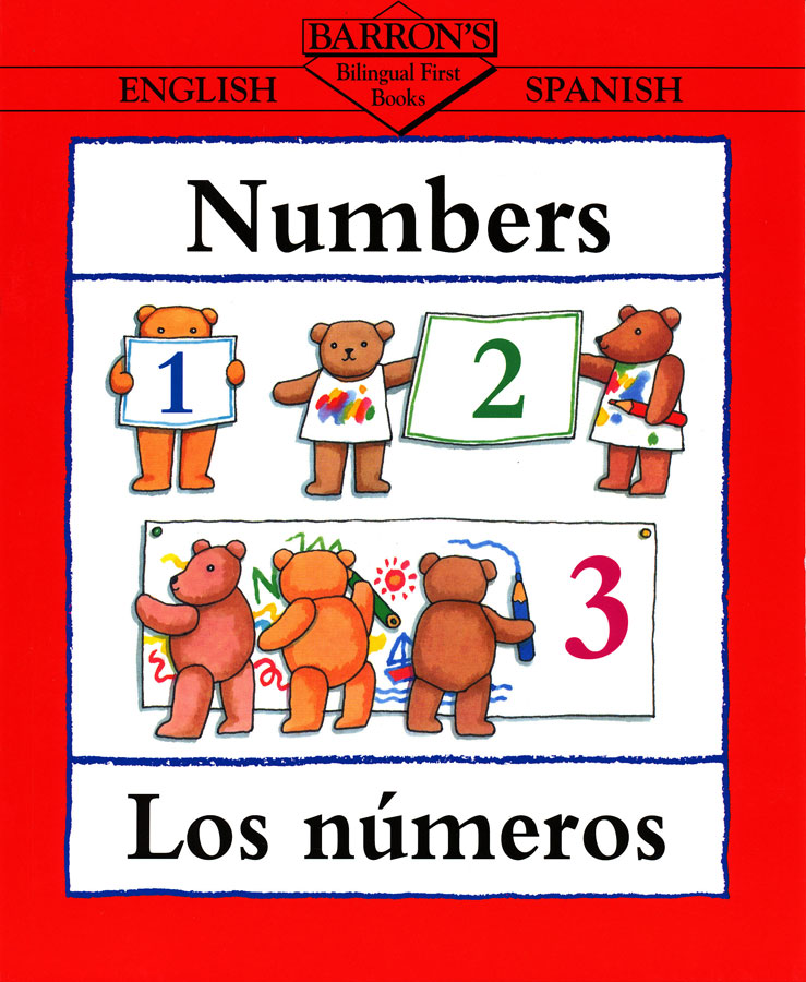 Numbers English/Spanish Book