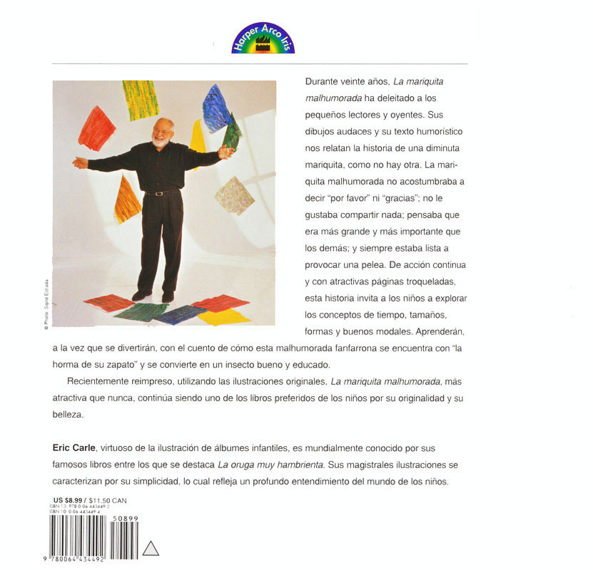 Eric Carle Spanish Storybooks Set of 6, Story Books: Teacher\'s Discovery