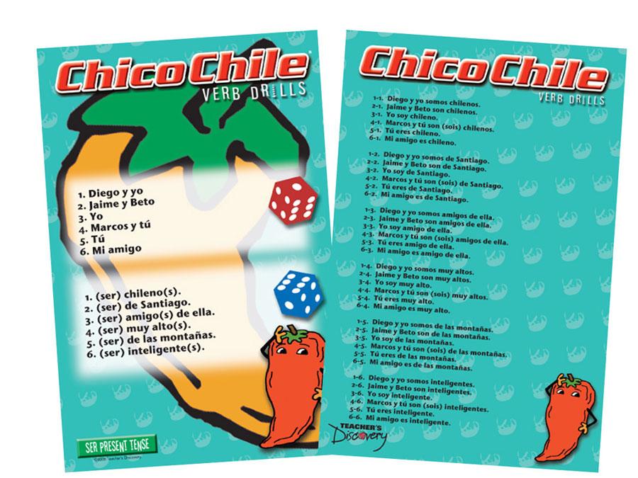 Chico Chile Ser Present Tense Game