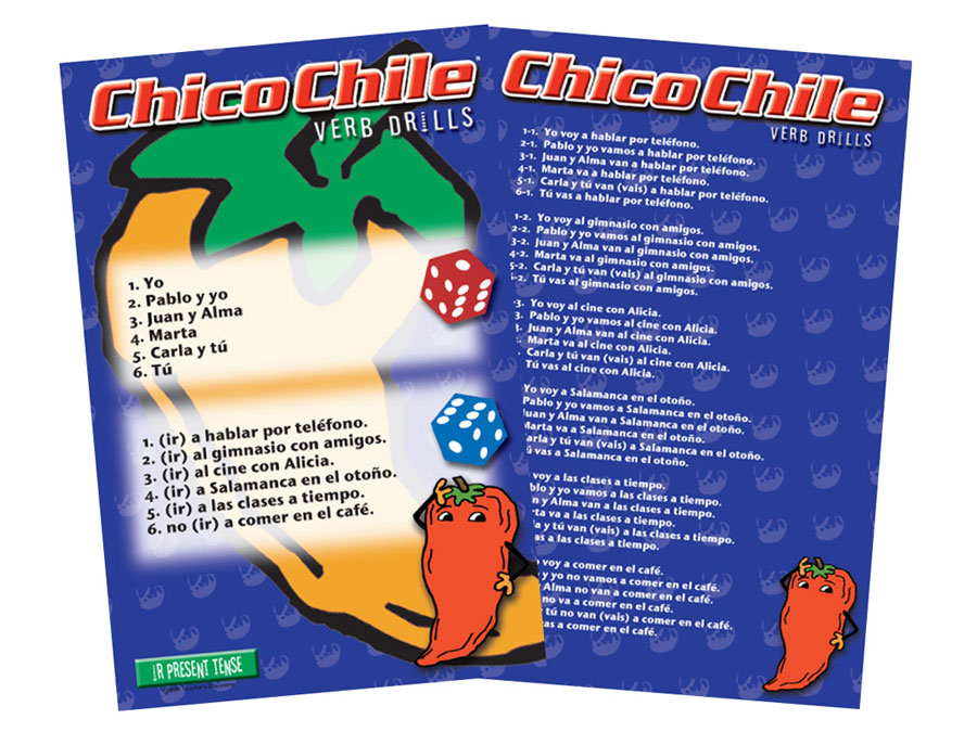 Chico Chile IR Present Tense Game
